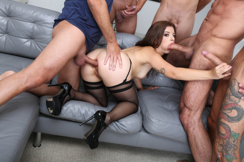 LegalPorno.com/ PissVids.com: Mary Jane, - - 7on1 Double anal Gang Bang goes Wet, Mary Jane, 7on1, BWC, ATM, Balls Deep Anal [SD 480p] (1.35 Gb)