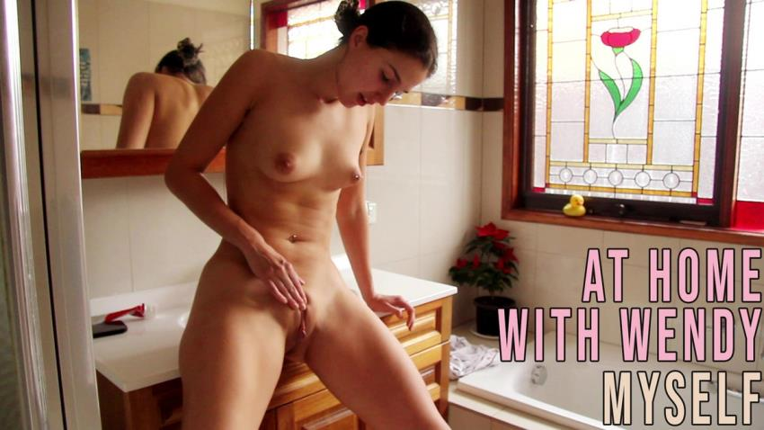 Wendy ~ At Home With Myself ~ GirlsOutWest.com ~ FullHD 1080p