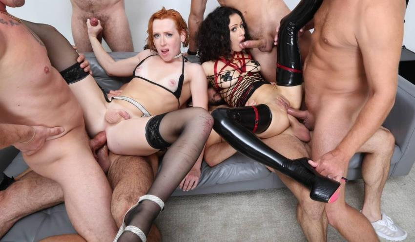 LegalPorno.com / AnalVids.com - Shiri Allwood, Stacy Bloom -, Shiri Allwood VS Stacy Bloom wet #2, 6on2, Anal Fisting [HD 720p]