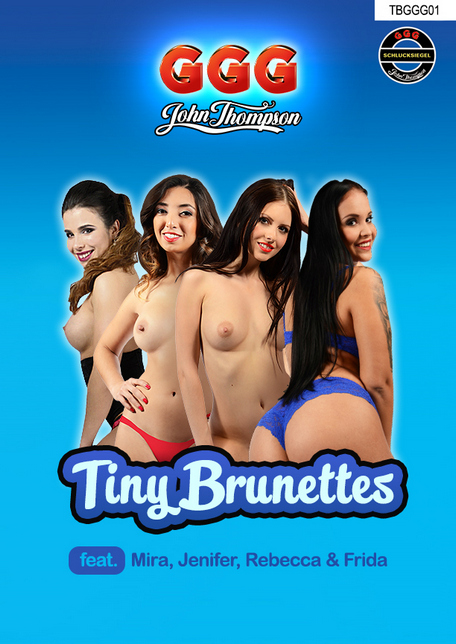 GGG : Mira Cuckold, Jenifer Mendez, Rebecca Volpetti, Frida Sante -, Tiny Brunettes of GGG, [FullHD 1080p] (2.13 Gb)