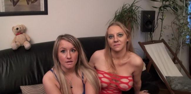 Nudeinfrance.com Lafranceapoil.com: Two big boobed belgian cousins hard anal pounded in a group sex Starring: Christina