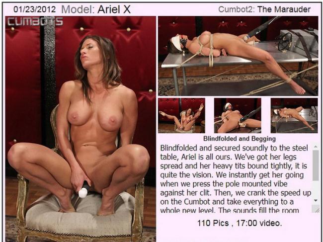 CumBots.com Dungeoncorp.com: Ariel X Starring: Ariel X