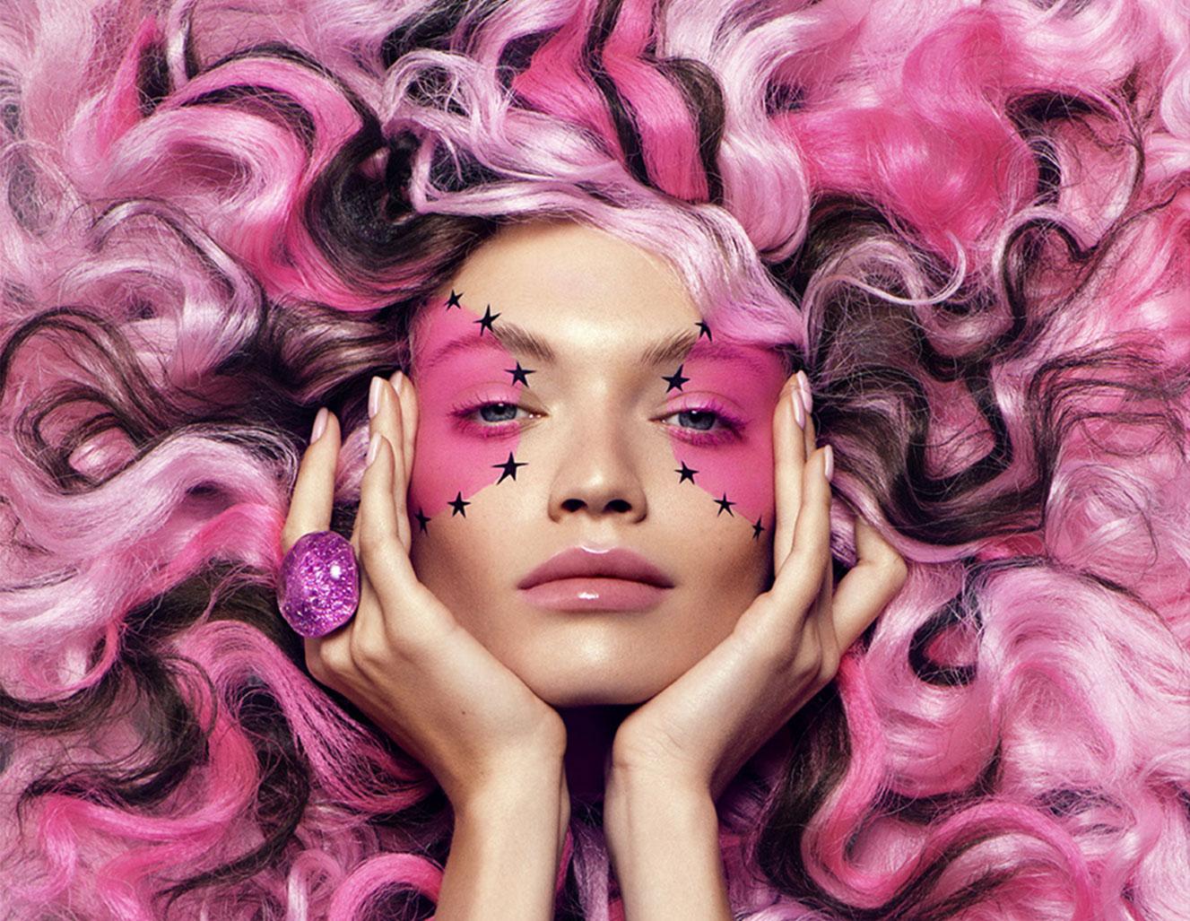 Розовый мир в Harpers Bazaar Вьетнам / фото 01