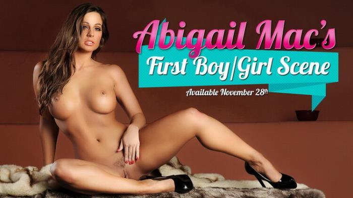 DigitalPlayground.com: First BG (Pussy Wide Open) Starring: Abigail MacAll Sex