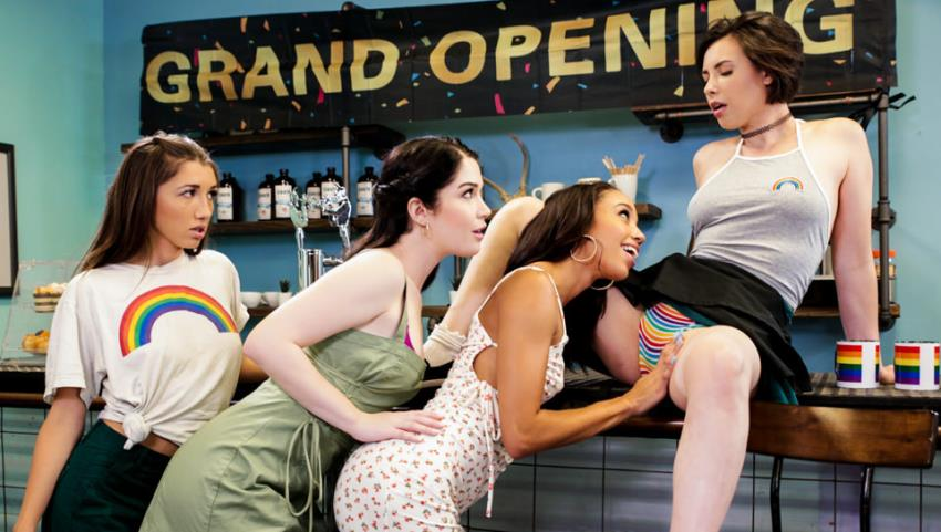 GirlsWay.com - Alexis Tae, Casey Calvert, Evelyn Claire, Maya Woulfe